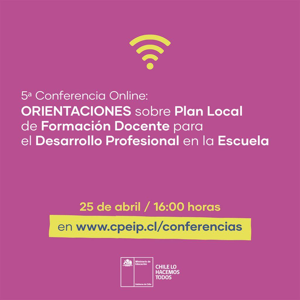 Conferencias CPEIP docentes