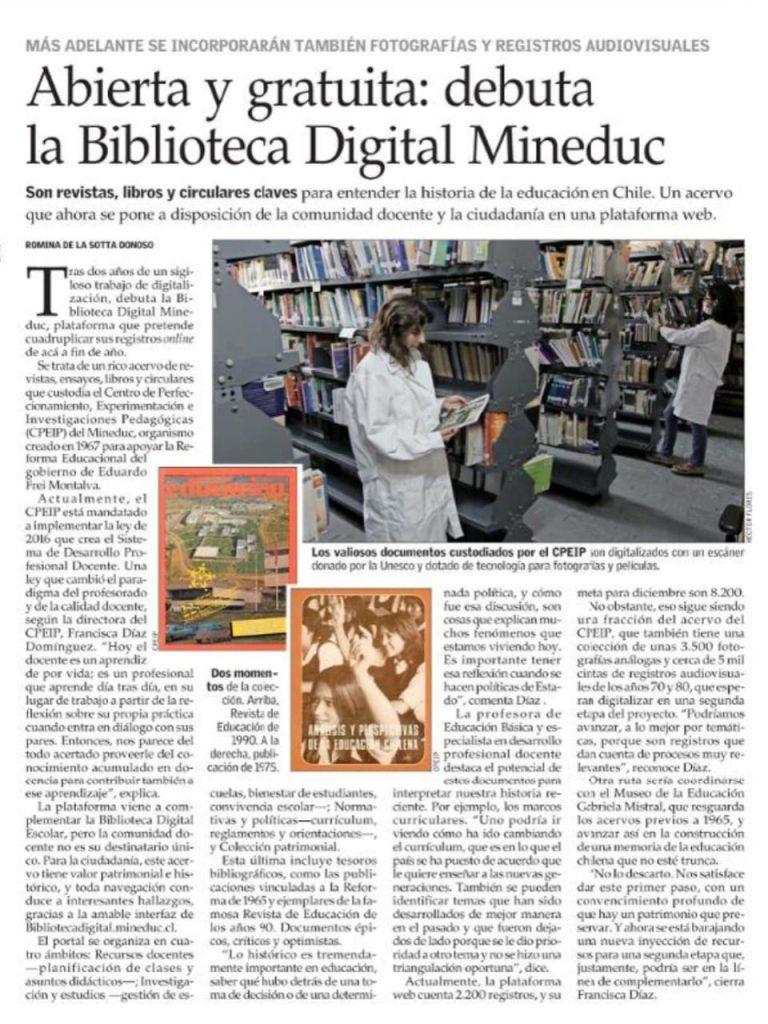 Biblioteca Digital CPEIP